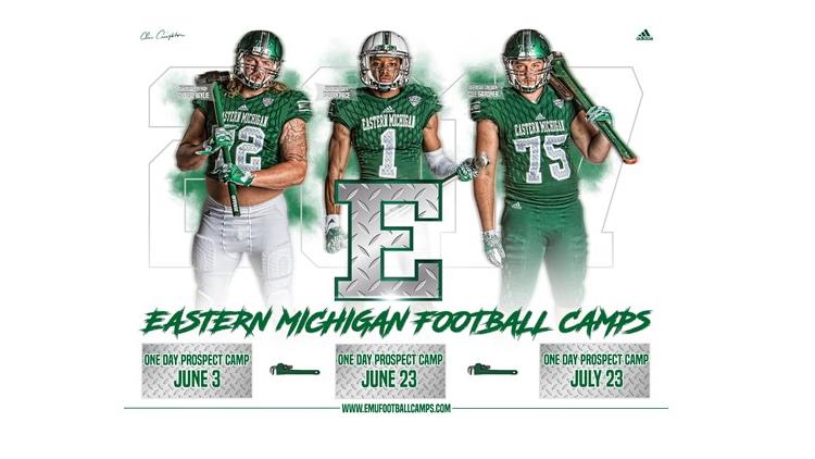 2019 EASTERN MICHIGAN FOOTBALL CAMPS-EMU One-Day Prospect Camp