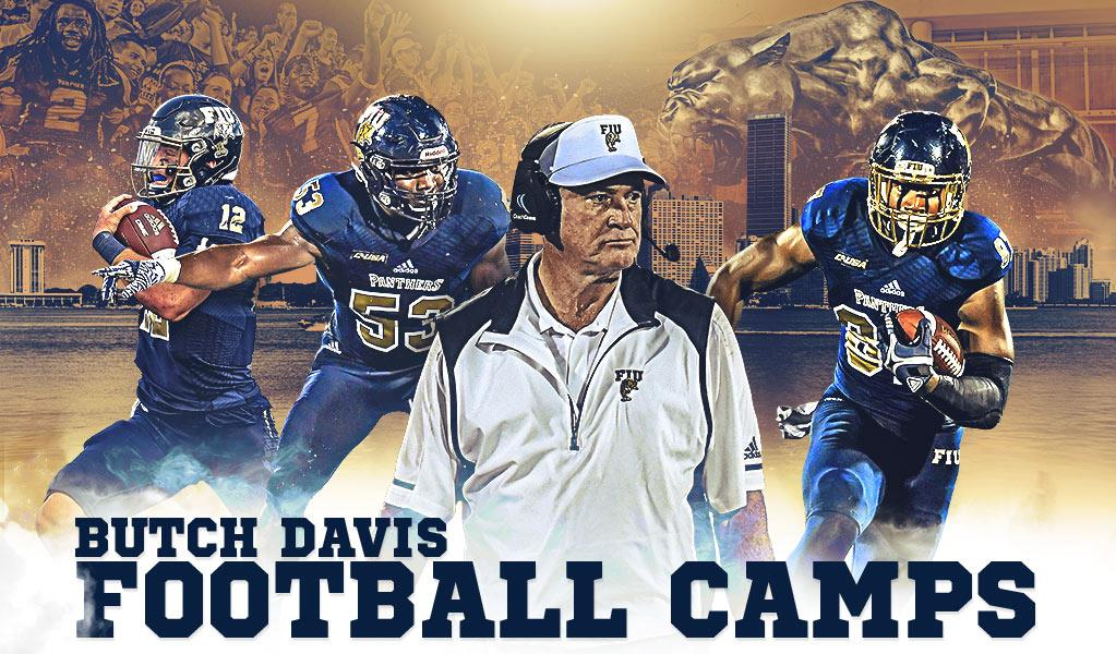info for f6647 c5068 Butch Davis Football Camps